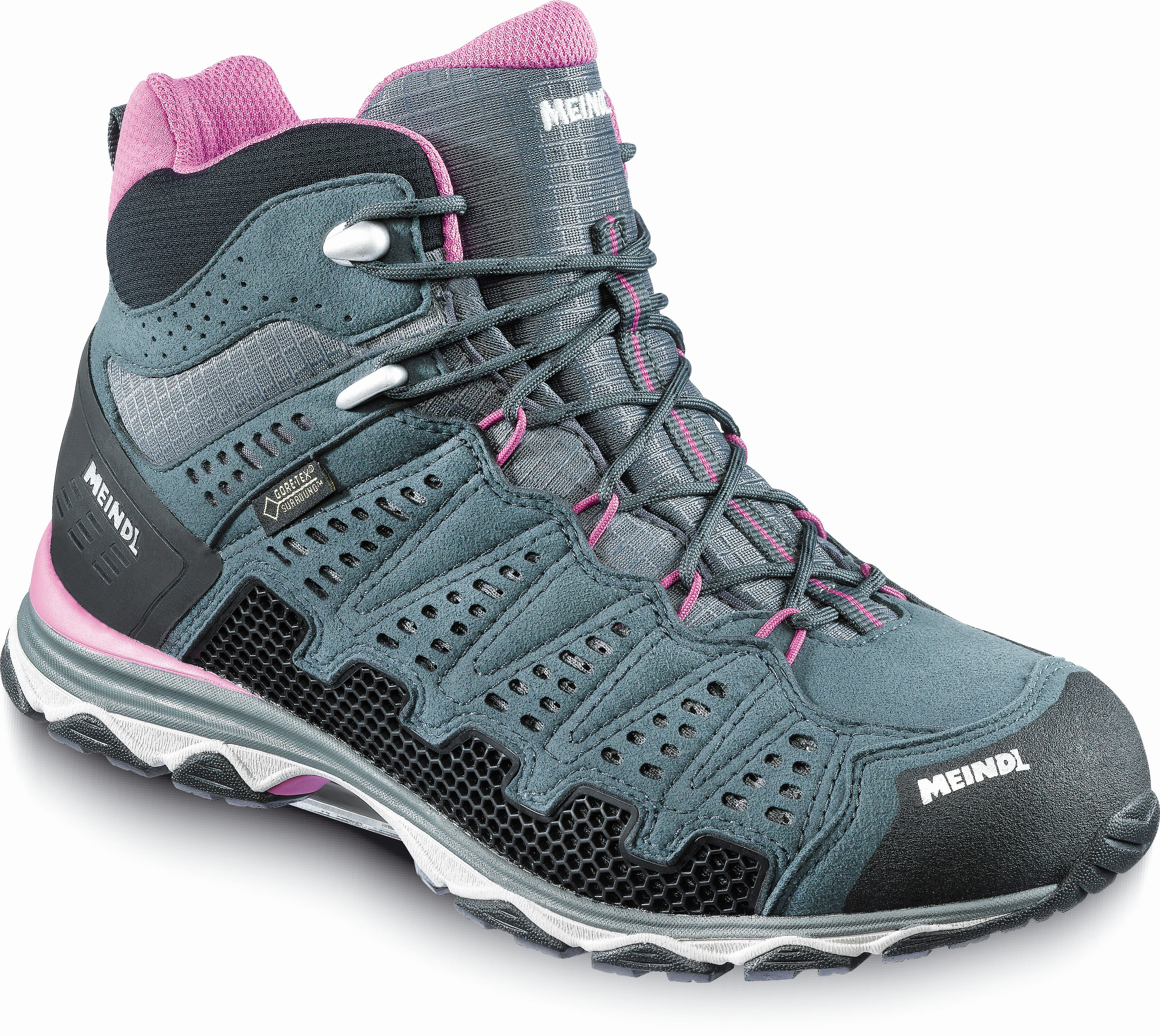 Meindl X-SO 70 Lady Mid GTX violet anthracite 5d656e6162